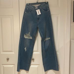 Oak and Fort Mid Rise Jeans